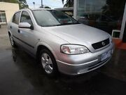 2002 Holden Astra TS MY03 CD Silver 4 Speed Automatic Hatchback Alphington Darebin Area Preview
