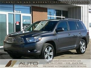 2009 Toyota Highlander V6 Sport AWD *** LEATHER ***