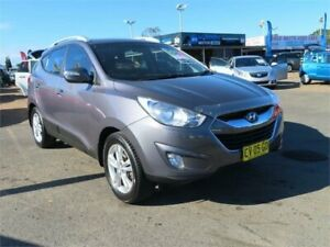 2011 Hyundai ix35 LM MY12 Elite Grey Sports Automatic Wagon Minchinbury Blacktown Area Preview