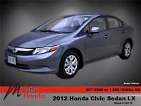 2012 Honda Civic LX (M5)
