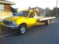 FORD F550 1999 DEPANNEUSE,REMORQUAGE,TOWING PLAT FORME 18P