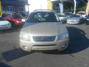 2005 Ford Territory SX Ghia (4x4) Gold 4 Speed Auto Seq Sportshift Wagon Greenslopes Brisbane South West Preview