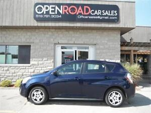 2009 Pontiac Vibe* AWD * ONE OWNER * CERTIFIED * NO ACCIDENTS