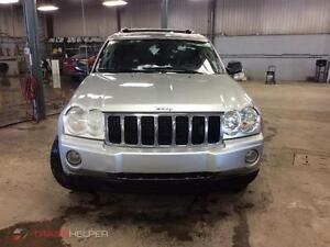 2005 Jeep Grand Cherokee LIMITED GAR 1 AN FINANCEMENT $500 DEPOT