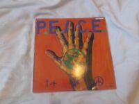 Vinyl LP International P.E.A.C.E Benefit Compilation P.E.A.C.E. War. R Radical Records Stereo 1984