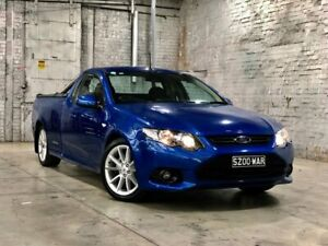 2013 Ford Falcon FG MkII XR6 Ute Super Cab Blue 6 Speed Manual Utility Mile End South West Torrens Area Preview