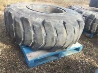 Michelin 20.5 R 25 pair or spares on rim tire or rim or both Edmonton Edmonton Area Preview