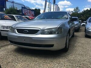 2004 Ford Falcon BA XT Silver 4 Speed Sports Automatic Sedan West Ryde Ryde Area Preview