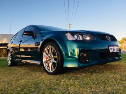 2013 Holden Commodore VE II MY12.5 SS-V Z-Series Chlorophyll 6 Speed Automatic Sportswagon