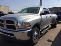 REDUCED 2012 DODGE RAM 3500 CREW CAB DIESEL DUALLY WITH LOW KS