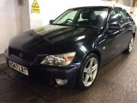 LEXUS IS 200 2.0 SE PETROL AUTOMATIC BLACK SALOON MOT EXCELLENT DRIVE CHEAP CAR NOT BMW ACCORD CIVIC