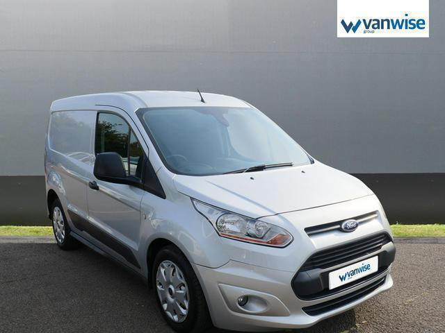 2014 Ford Transit Connect 1.6 TDCi 95ps Trend Van Diesel white Manual