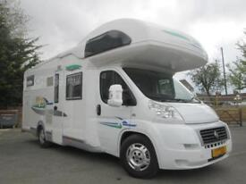 2009 CHAUSSON WELCOME TOP 57, REAR GARAGE, 5/6 BERTH MOTORHOME FOR SALE