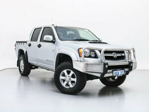 2011 Holden Colorado RC MY11 LX-R (4x4) Silver 4 Speed Automatic Crew Cab Pickup