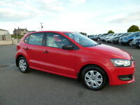 Volkswagen Polo S (red) 2011-03-01