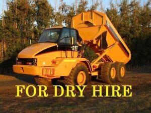 Cat 725 Dump truck Moxy for dry hire. Pickering Brook Kalamunda Area Preview