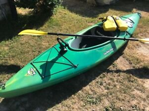 Clearwater Nunu Kayak package in mint condition