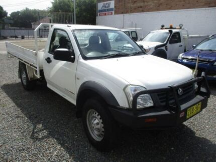 2004 Holden Rodeo RA DX White 5 Speed Manual Cab Chassis Broadmeadow Newcastle Area Preview