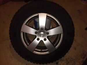 245 65 17 Mags w studded tires and TPMS