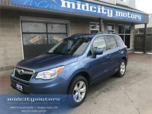 2016 Subaru Forester 2.5i Touring/ AWD/ Cam/ Htd seats/ Sunroof