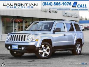 2016 Jeep Patriot Sport-HEATED LEATHER SEATS, BLUETOOTH, AUX INP