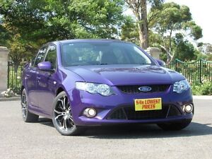 2011 Ford Falcon FG XR6 Limited Edition Purple 6 Speed Manual Sedan Blair Athol Port Adelaide Area Preview