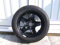 new ford focus steel wheel & tyre