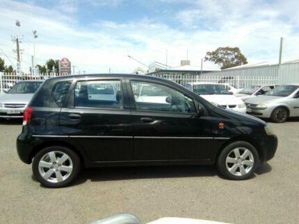 2003 Daewoo Kalos T200 Black 5 Speed Manual Hatchback Hillcrest Port Adelaide Area Preview
