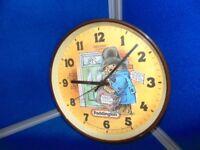 paddinton bear clock