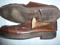 Men's casual brown sandals size 12