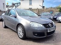 Volkswagen Golf 2.0 TDI DPF GT 5dr£3,995 camblet&water pump replaced