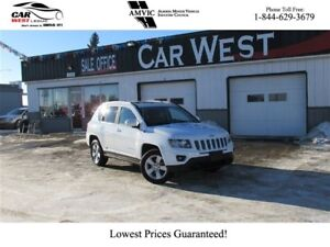 2016 Jeep Compass Sport/North | HEATED SEATS | LEATHER SEATS | H