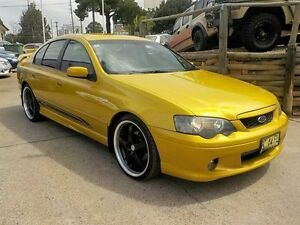 2003 Ford Falcon BA XR6 Gold 4 Speed Auto Seq Sportshift Sedan North St Marys Penrith Area Preview