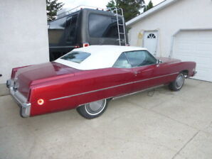 For Sale 1973 Cadillac Eldorado Convertable