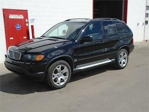 2002 BMW X5 4.4i V8 AWD ~ Low km -- Sunroof ~ Leather~ $6995