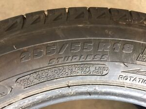 a great deal on awesome Michelin Latitude x-ice2 255/55R 18 107T
