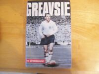 Jimmy Greaves (Greavsie) Signed 1st Edition 2003 Hardback With Dust Cover.