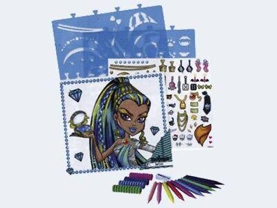Monster High Make Up Artist Zeichenmappe 200-87093 ()