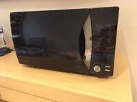 Daewoo Touch Control Microwave Oven, 800 Watt, 23L - Black Onyx