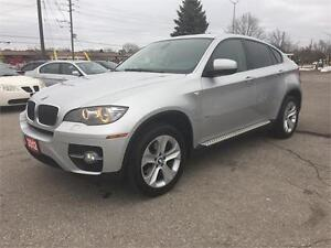 2012 BMW X6 35i|NAV|CAM|SUNROOF|LEATHER|NO ACCIDENT|RED INTERIOR