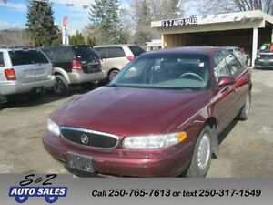 2000 Buick Century Limited ONLY 65000 KM! ONE OWNER!