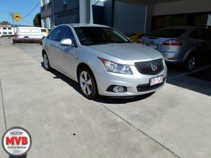 2013 Holden Cruze JH MY14 Equipe Silver 6 Speed Automatic Sedan Murarrie Brisbane South East Preview