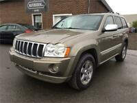 2006 Jeep Grand Cherokee Overland (CUIR - DVD - TOIT)