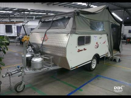 2011 CUB Spacevan Camper Trailer Call David