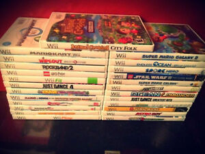Nintendo Wii Games Mario Punch Out Wii Sports Zelda LEGO
