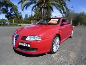 2007 Alfa Romeo GT 3.2 Red 6 Speed Manual Coupe Cabramatta Fairfield Area Preview