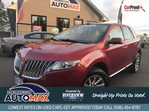 2011 Lincoln MKX AWD! Navigation! Leather! Loaded! WOW $15288