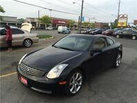 2006 INFINITY G35 COUP, AUTO, CLEAN CARPROOF, LEATHER, SUNROOF,