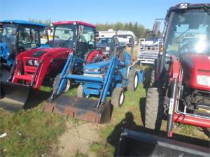 Ford 1220 4x4 with loader and blower