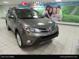 2013 Toyota RAV4 Limited AWD - Leather Interior